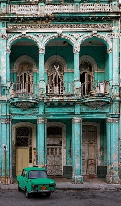 Havana, Cuba amazing architecture design