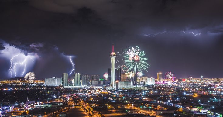 Tony Eckersley July 4th Fireworks Las Vegas Nevada