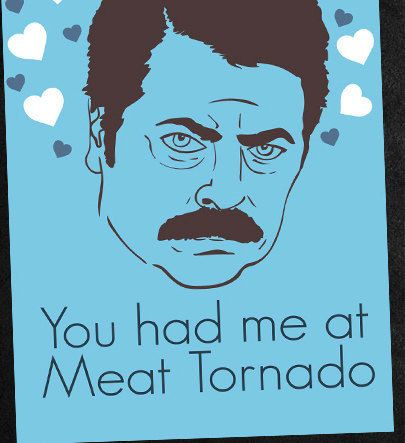 Ron Swanson Valentines Card   DIY Printable ($3.00)   Svpply
