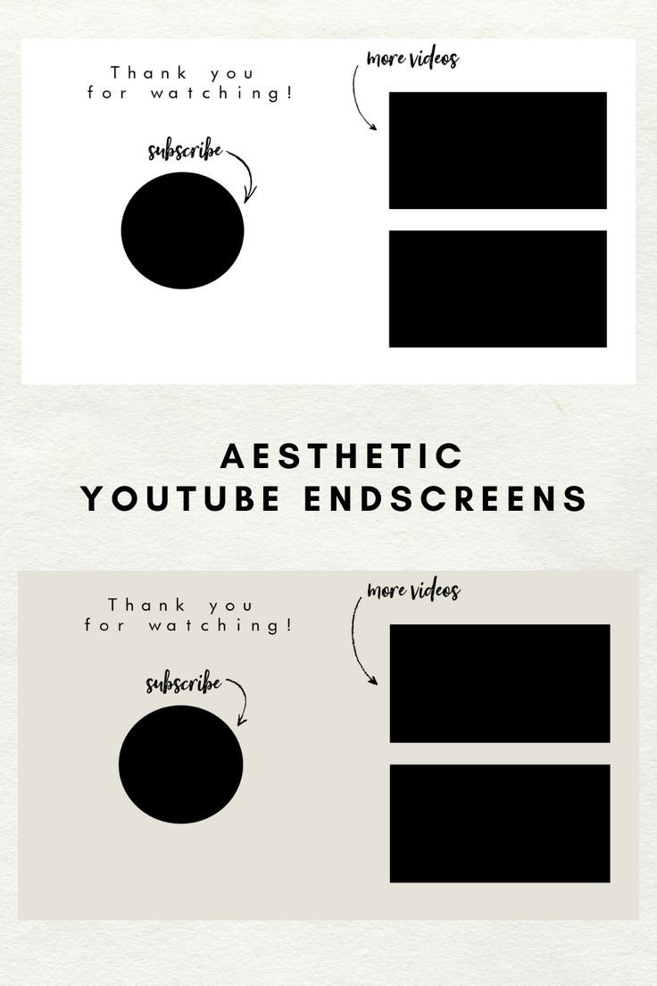 2 End Screens Outro Template For Youtube Videos End Slate For Videos First Youtube Video Ideas Video Design Youtube Youtube Channel Ideas