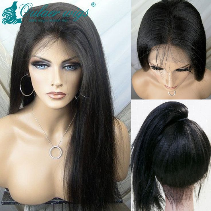 Find More Human Wigs Information about 100% Human Hair Ponytail Wig Malaysian Cheap Virgin Lace Wigs Glueless Full Lace High Wigs Lace Front Ponytail Wig Can Make Buns,High Quality wig color,China wig holder Suppliers, Cheap wigs uk from Luffy Wig Store on Aliexpress.com