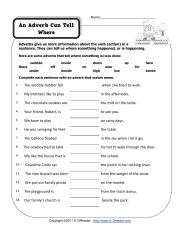 Printables Adverb Worksheets 1000 images about adverb worksheets on pinterest activities free worksheets