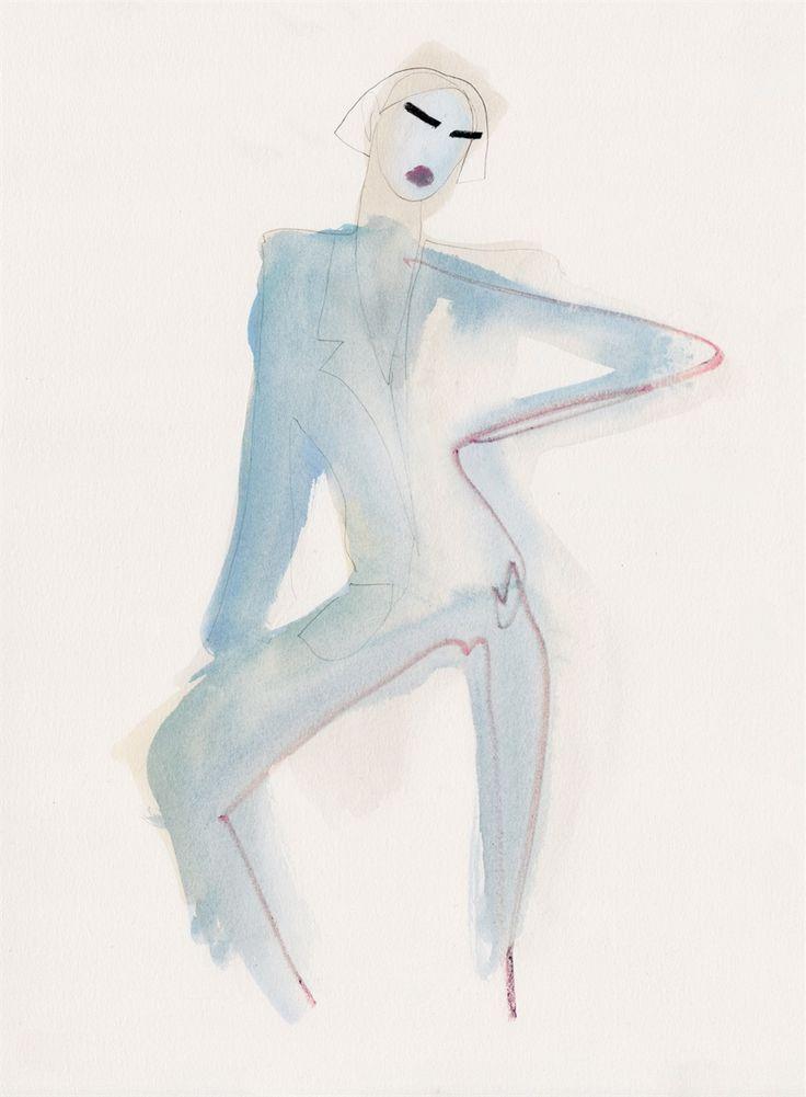 Amelie Hegardt è la nota illustratrice moda svedese che vanta di prestigiosi collaborazioni come Vogue, MAC Cosmetics e Harrods.Alessia Xoccato, con in t