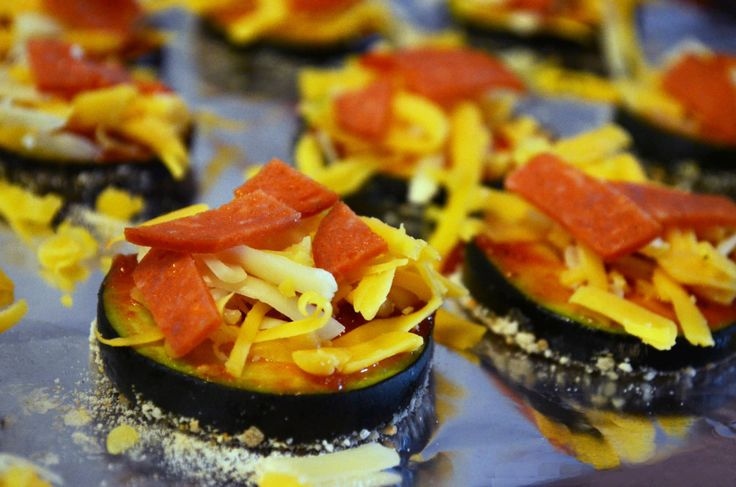 Zucchini Pizza Bites: How to Eat Healthy While Getting Your Pizza Fix