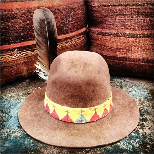 Navajo Indian Style Hat