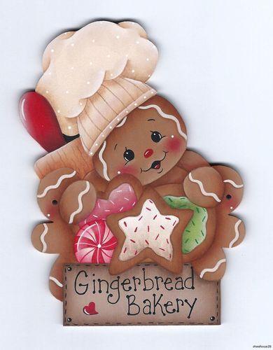 HP Gingerbread Bakery Fridge Magnet | eBay