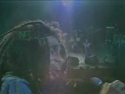 Get Up Stand Up - Bob Marley in a fascinatingly fragile and vulnerable state in this live version