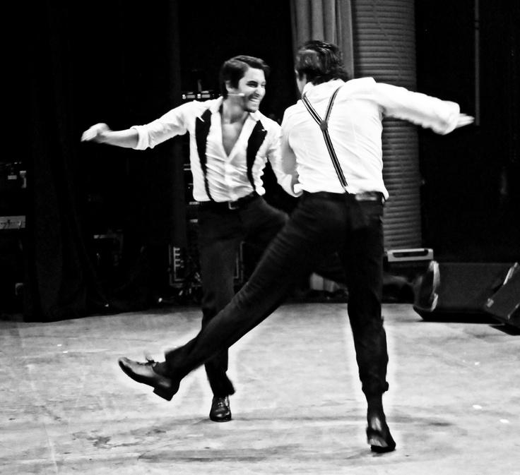 Nathan & Steven kickin' it out!