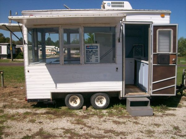 Campers For Sale Near Me >> 7x12 concession trailer $3000 | Business | Pinterest | Trailers