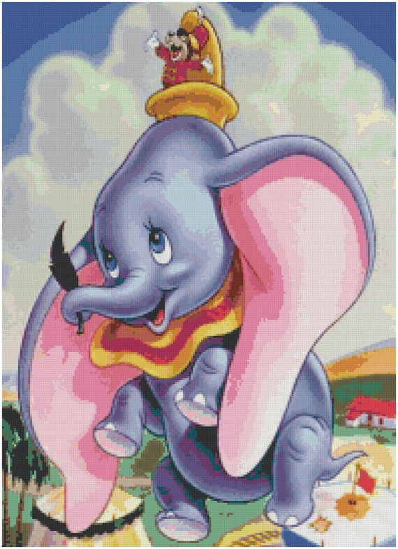 49 Best Images About Cross Stitch Dumbo On Pinterest