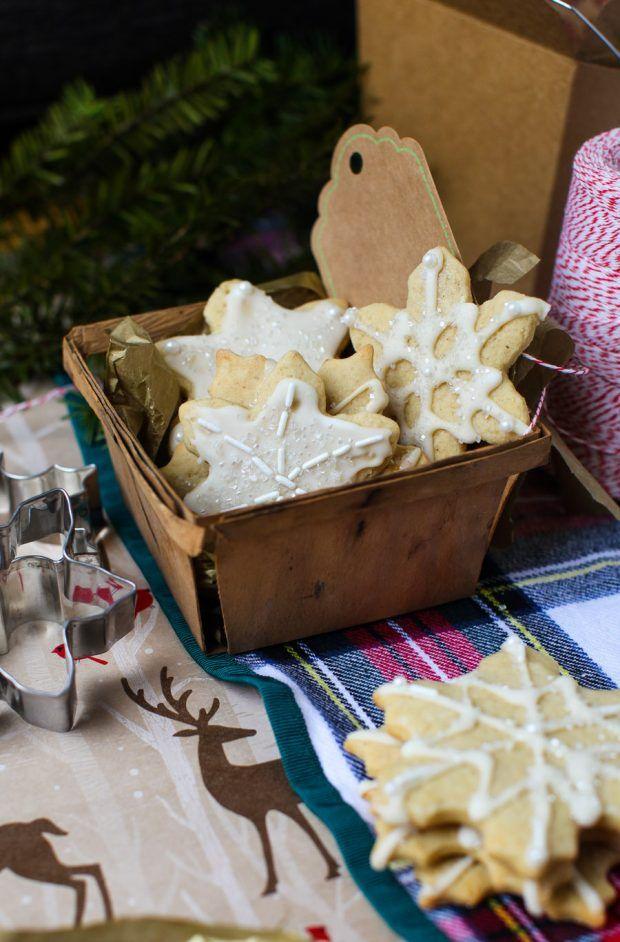 Soft Maple Sugar Cookies + cookie swap recap | Simple Bites