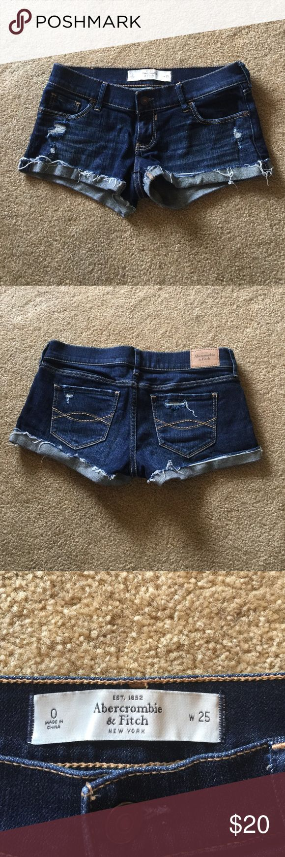 Abercrombie Jean shorts Never worn, like new Abercrombie & Fitch Shorts Jean Shorts