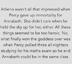 Athena  Percy Jackson  Annabeth Chase  Percabeth