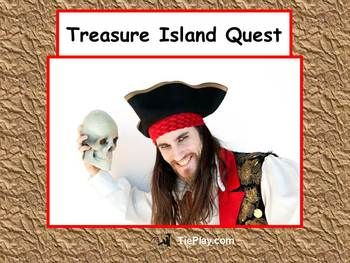 Avast, me hearties!  This Treasure Island Quest Unit (based on the Robert Louis Stevenson novel) integrates 8-1 teaching method dynamics into lesson plans to include Gardner's Multiple Intelligence and Blooms Taxonomy.  This unit of 56 pages is appropriate for 4th, 5th and 6th grade students while reading Treasure Island.~Please note before purchasing  that some student computer access is required. ~This unit includes everything you need!