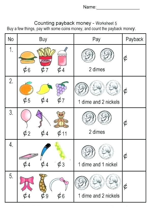 2nd Grade Money Worksheets | Money worksheets, Money games ...