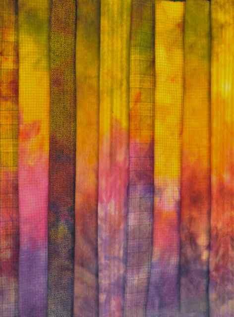 Gene's Shepherd's Dump Dye wool, this time with a variety of tweeds.