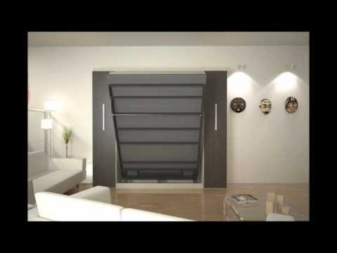murphy bed more space place. Black Bedroom Furniture Sets. Home Design Ideas