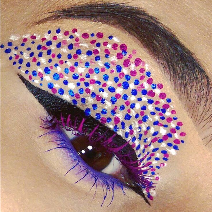Colorfull makeup @eltamakeup