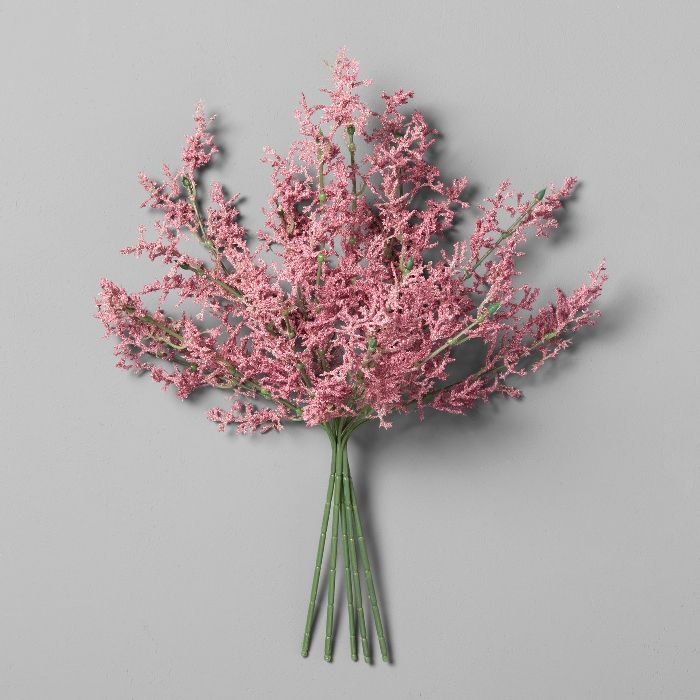 Joanna Gaines Approves Of Using This Controversial Decor Trend For Spring Astilbe Flower Fake Flowers Artificial Plants