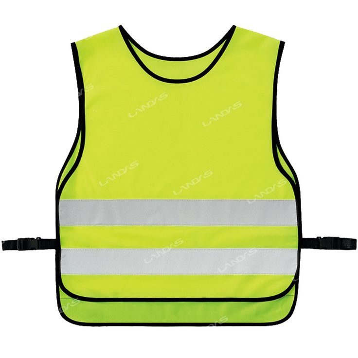 Night Cycling Riding Running High Visibility Safety Security Reflective Vest M #hellobincom