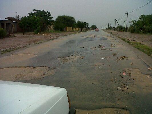 Potholes in Colridge