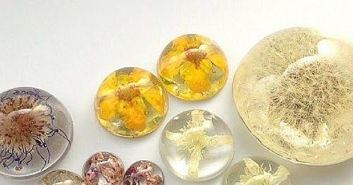 The Beading Gem's Journal: How to Make Real Flower Resin Jewelry