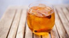 Fire Ball Whiskey, Apple Cider, & Ice...Ummmmmmm YUM!!!!