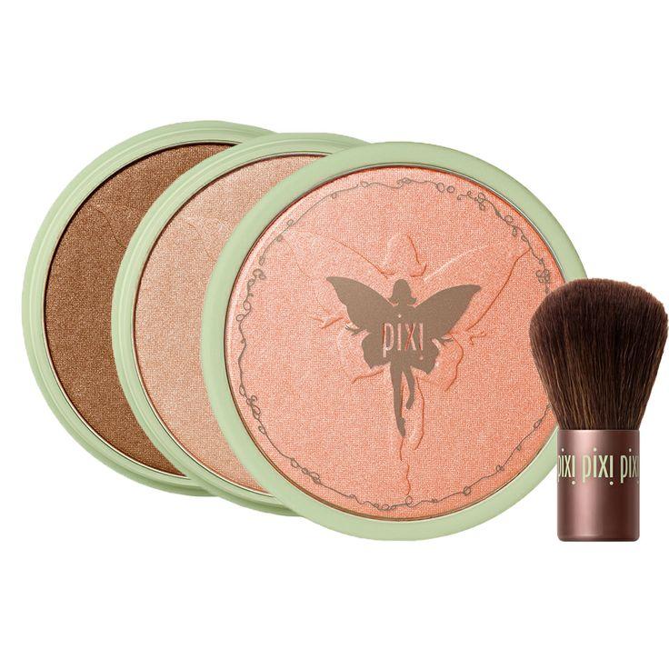 Pixi Beauty Bronzer + Kabuki Brush