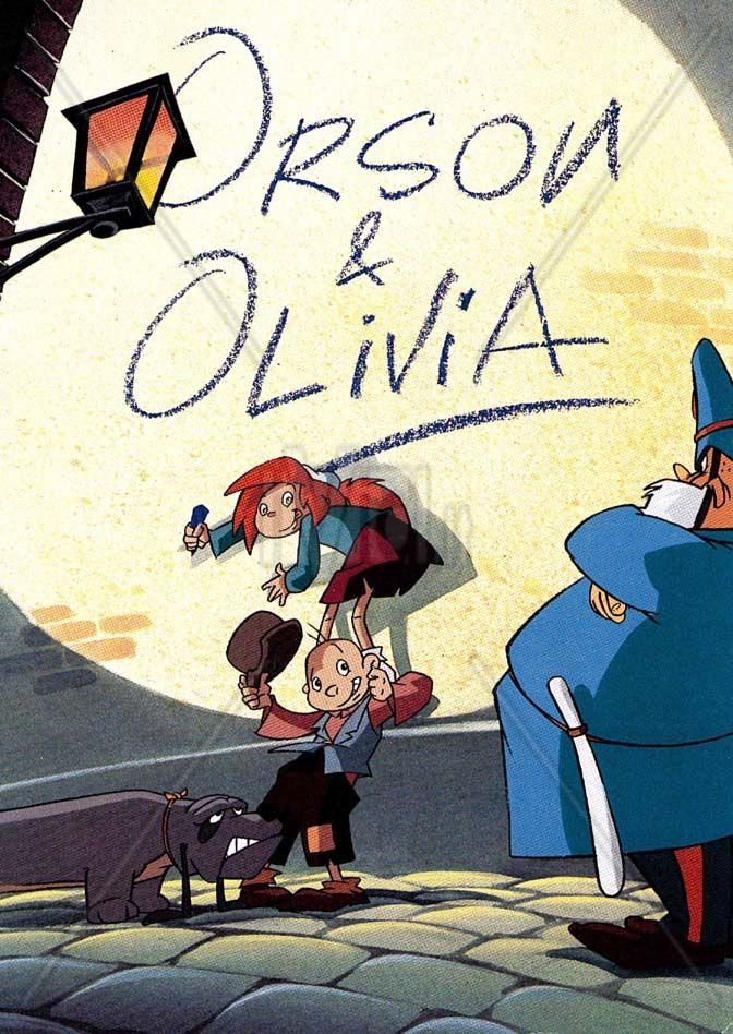 Orson et olivia old cartoons enfant - Orson et olivia ...