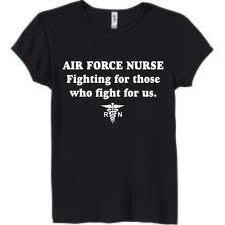 Air Force Nurse T shirt
