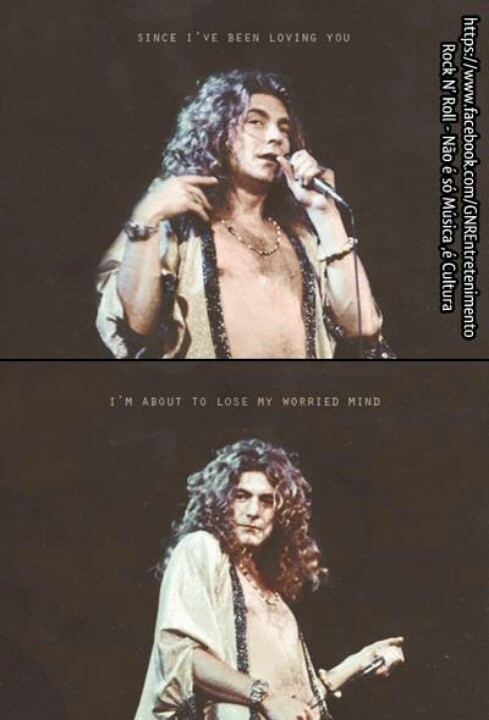 led zeppelin I've been in this place in my life