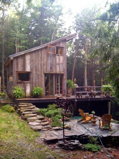 tiny house / cabin / The Green Life <3