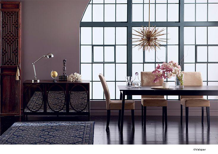 Put A Modern Spin On Classic Decor Valspar PaintColor TrendsPaint ColorsHome IdeasSpinBedroom IdeasDining Rooms