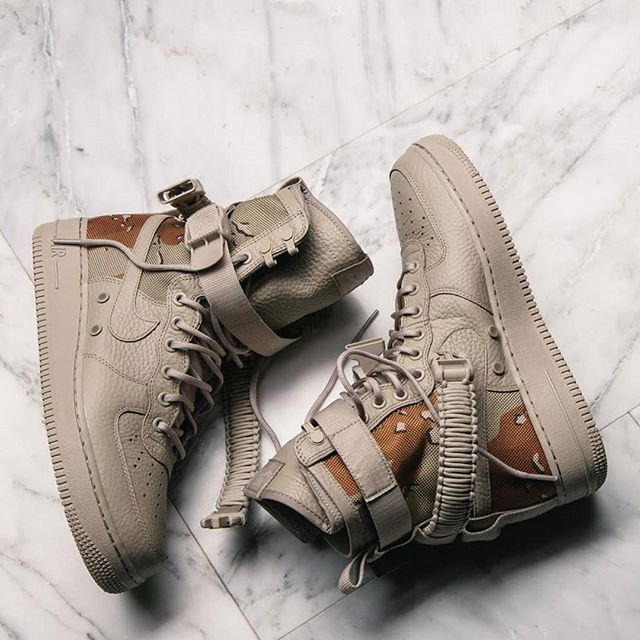 The 'Desert Camo' SF AF-1 has been deployed over at @lapstoneandhammer move out! #sneakerfreaker #snkrfrkr #airforce1 #nike #sfaf1  via SNEAKER FREAKER MAGAZINE OFFICIAL INSTAGRAM - Fashion  Advertising  Culture  Beauty  Editorial Photography  Magazine Covers  Supermodels  Runway Models