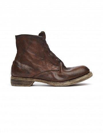 Кожаные ботинки Guidi - купить