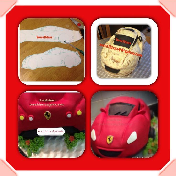 78 Best Ideas About Ferrari F430 Spider On Pinterest: 12 Best Ferrari Cake Images On Pinterest