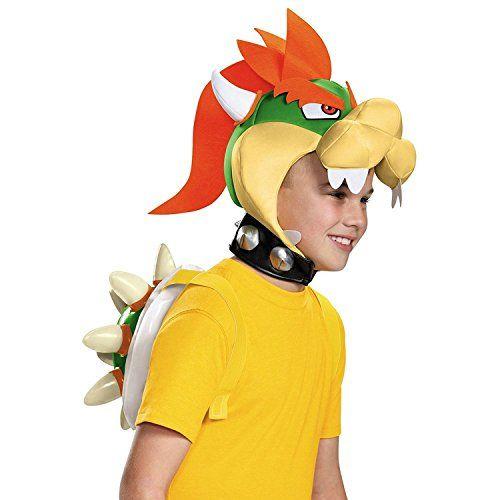Nintendo Super Mario Bros Bowser Kit Costume enfant: Le costume de super Mario Bowser Kit gonflable coque et bandeau. Enfant besoins idéal…