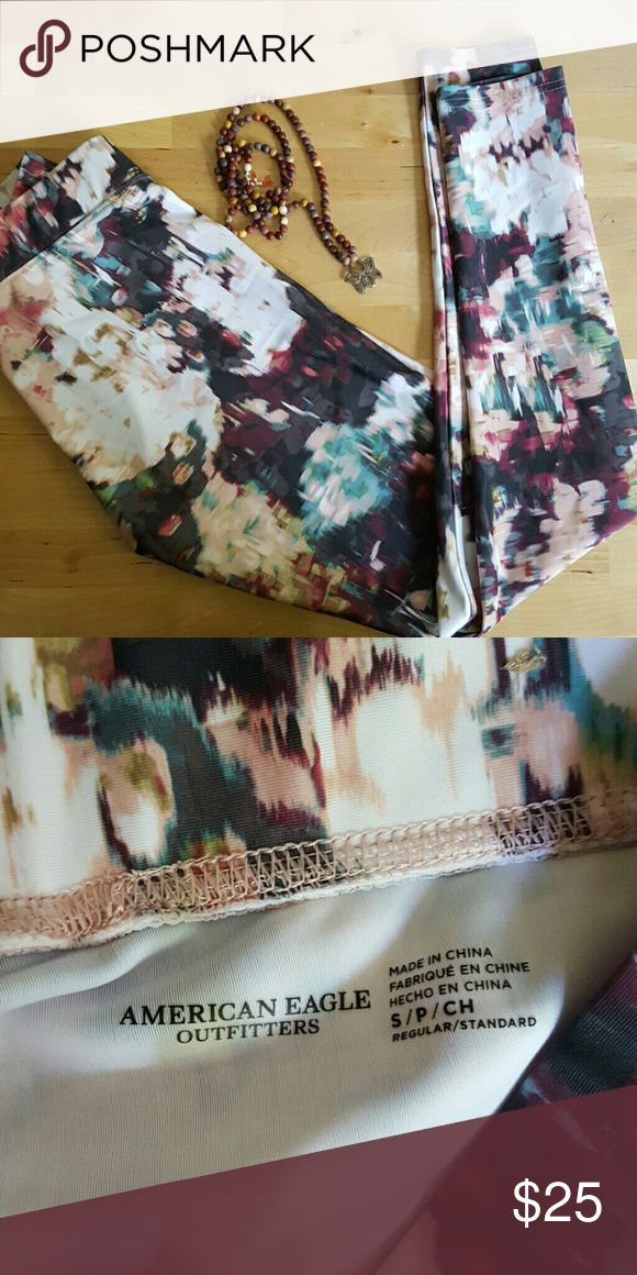 American Eagle Outfitters Leggins, Yoga Leggins, S Brand new, w/o tags, great quality and amazing pattern. Size S American Eagle Outfitters Pants Leggings
