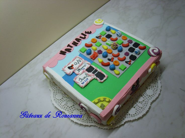 candy crash saga cake