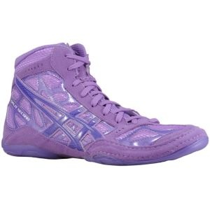 ASICS® Split Second 9 LE - Men's - Wrestling - Shoes - Grape/Electric Purple