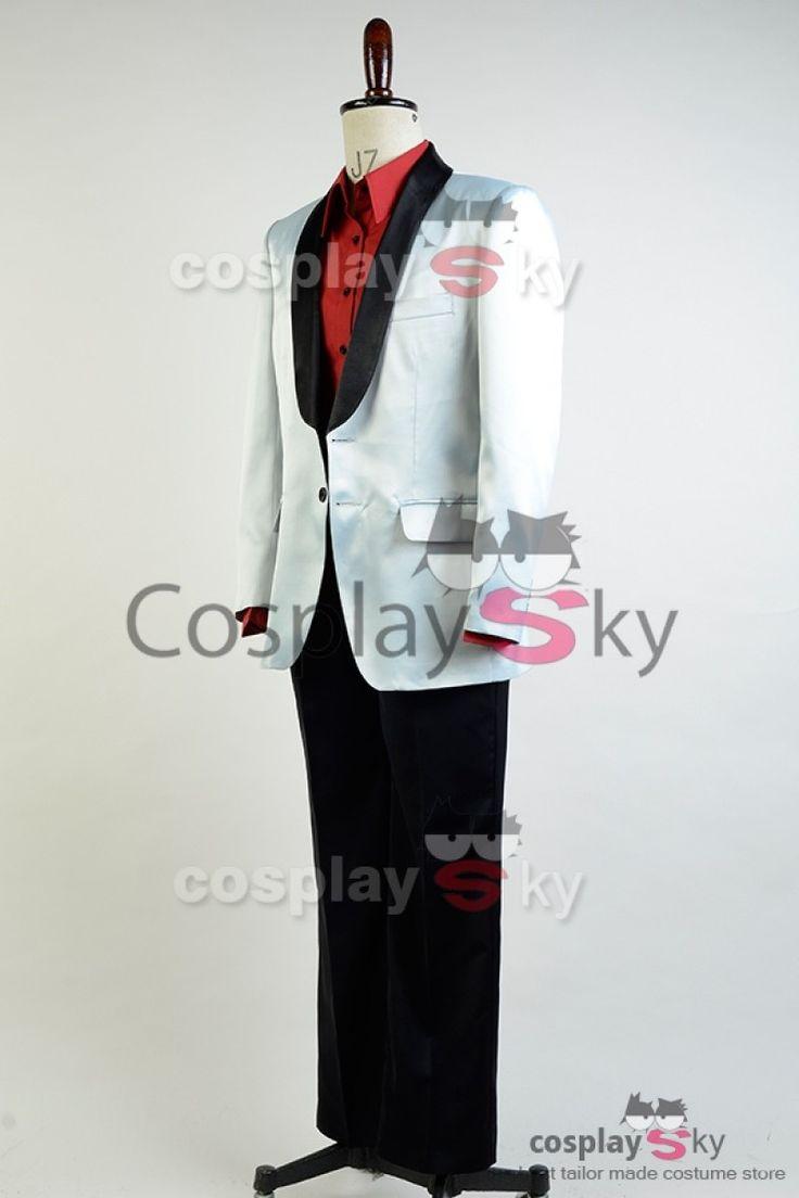 Suicide Squad Jared Leto Joker Cosplay Costume_9