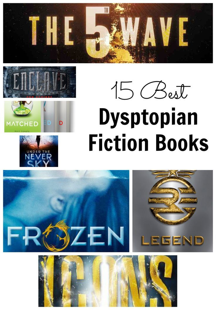 15 Best Dystopian and Post Apocalyptic Fiction Books for Fans of the Hunger Games #books #dystopianfiction