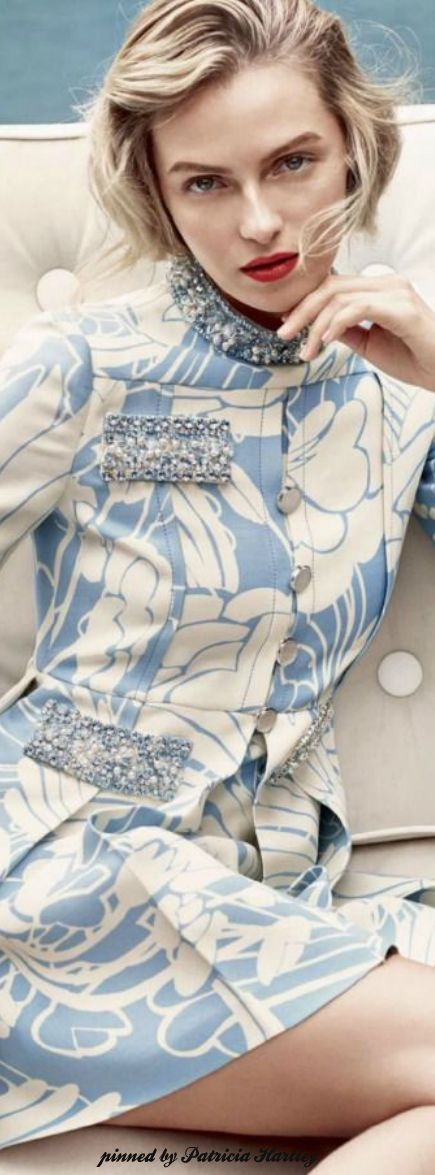 Miss M's Girls Trip in London ❤️    ♔ Valentina Zelyaeva by Regan Cameron UK for Harper's Bazaar January 2015
