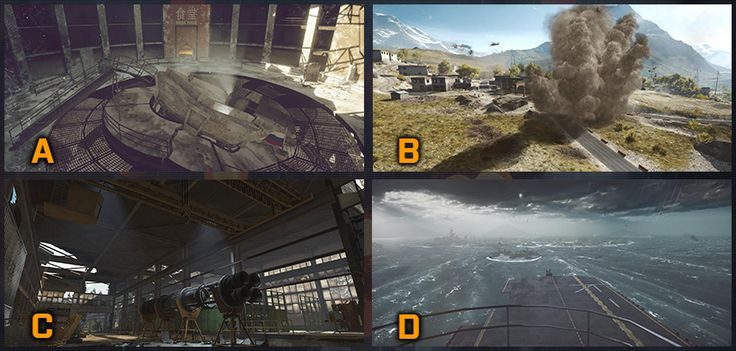 What's your go-to Obliteration Mode map? A ) Operation Locker B ) Golmud Railway C ) Zavod 311 D ) Paracel Storm Pic credit to MwSkyterror