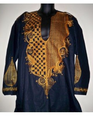 African attire casual shirt AACS010  AFRICAN ATTIRE ONLINE:THE ONLINE SHOP FOR AFRICAN FASHION AND ACCESSORIES     African Attire Shirt design     African linen  fitted shirt with exquisite embroidery
