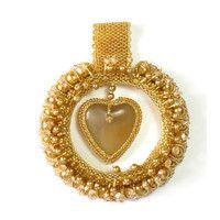 Golden Love handmade pendant – leFilomille