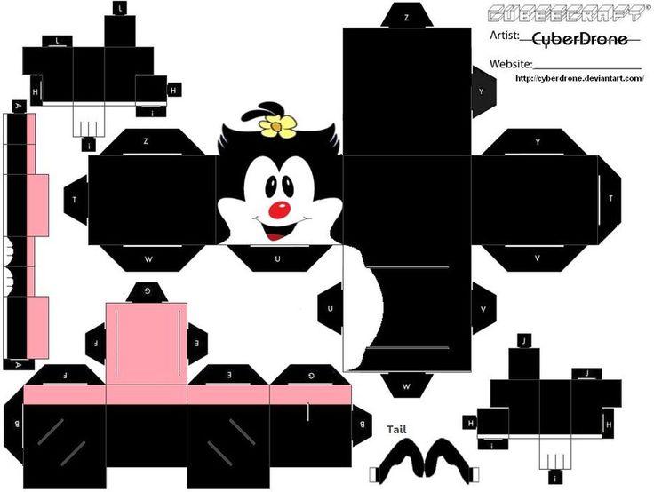 Cubee - Animaniacs--Dot Warner by CyberDrone on deviantART