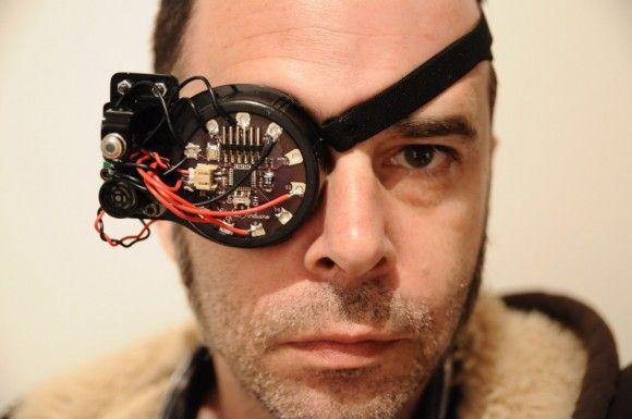 まるで映画『スタートレック』の世界!ヒトの視覚能力を高めるDIY拡張現実眼帯