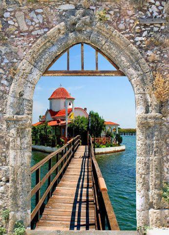 Porto Lagos Vistonida Lake Xanthi Prefecture Thrace Greece