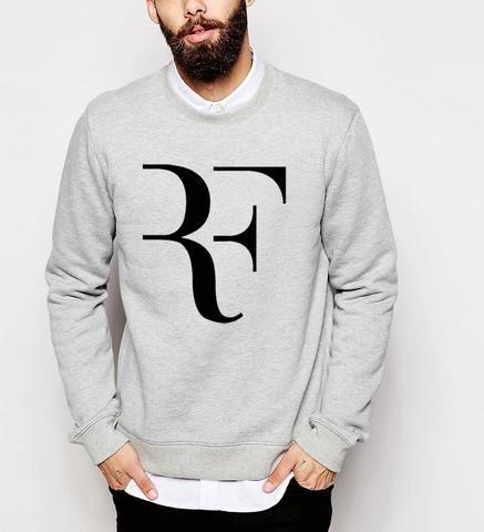 New 2017 Fashion Roger Federer fitness Men tracksuits fleece Hoodies Sweatshirt Men brand Clothing funny punk hip hop style mma